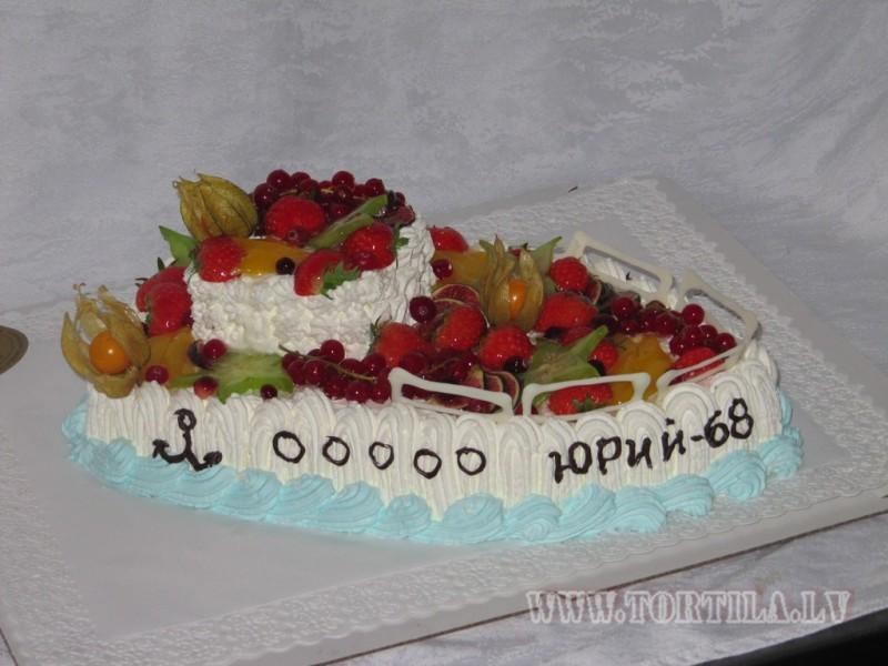 kuģis ar augļiem