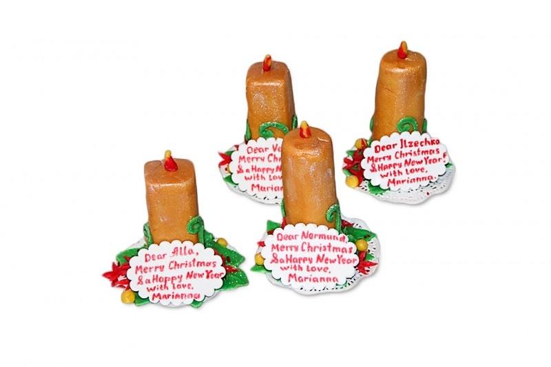 Марципановые свечи